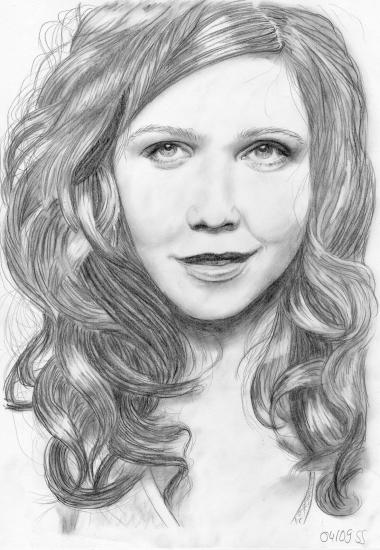 Maggie Gyllenhaal by Reikasan